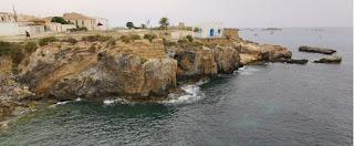 Isla de Tabarca, Cala del Birros y la Guardia.