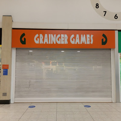 Grainger Games in Stretford Mall