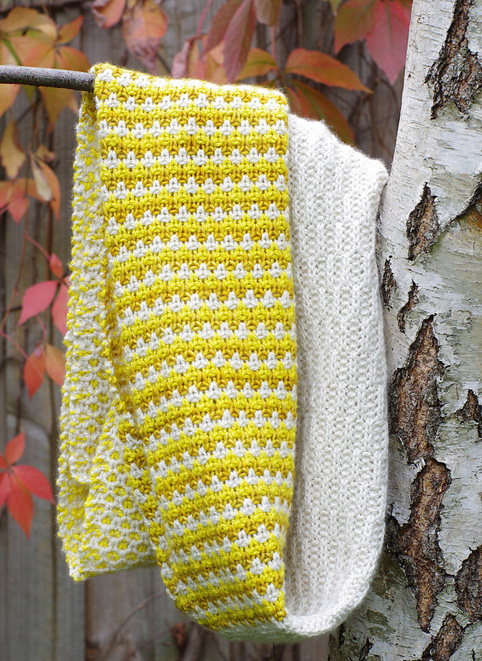 Stitch Block Cowl by Red Pepper Quilts