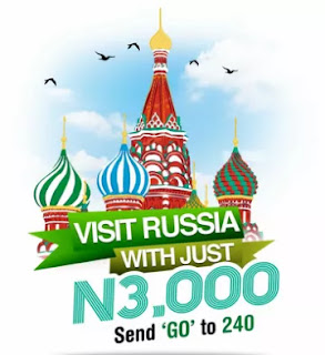 You Can Visit Russia With Just N3000 - (Glo Go Russia Promo)