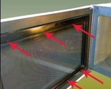 كيفية تصليح باب الفرن الكهربائي