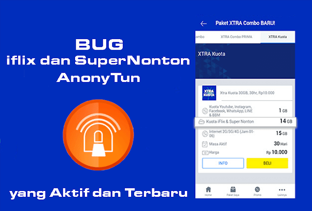 bug kuota iflix dan super nonton terbaru