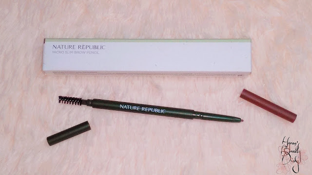 Review; Nature Republic's Micro Slim Brow Pencil 03 Soft Brown