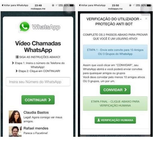 Golpe de videochamada atinge usuários do WhatsApp no Brasil