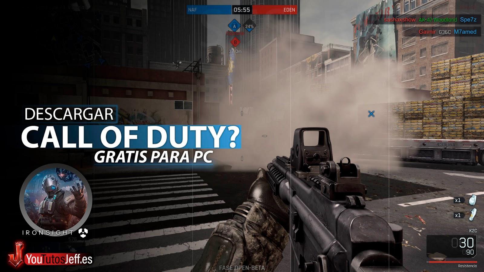 Call Of Duty Gratis? Descargar Ironsight para PC Ultima Versión