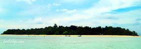 Travelling to Sangalaki Island, Derawan, East Kalimantan, Indonesia