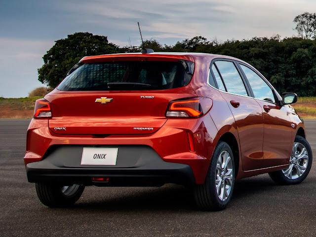 Novo Onix Hatch 2020