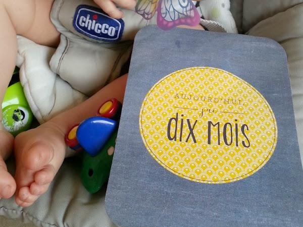 Journal de bébé : Louis, 10 mois !