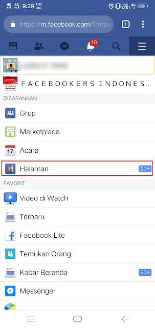 Cara Membuat Halaman / Fanspage Facebook di HP Terbaru