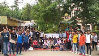 खट्टर सरकार की छात्र विरोधी नीतियों के खिलाफ अनिश्चितकालीन धरना : कृष्ण अत्री
