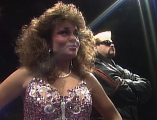 WCW Starrcade 1989 - Woman w/ Nitron