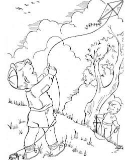 Ζωγράφισε χαρταετούς για την Καθαρά Δευτέρα