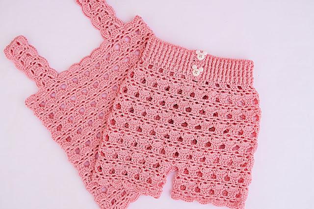 1 - Crochet Imagenes Pantalon en conjunto con camisa a crochet y ganchillo por Majovel Crochet