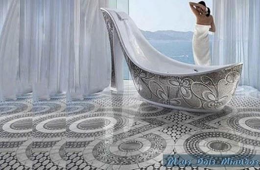 Banheira extravagante, banheira feminina, banheira luxo, bathtubs luxury