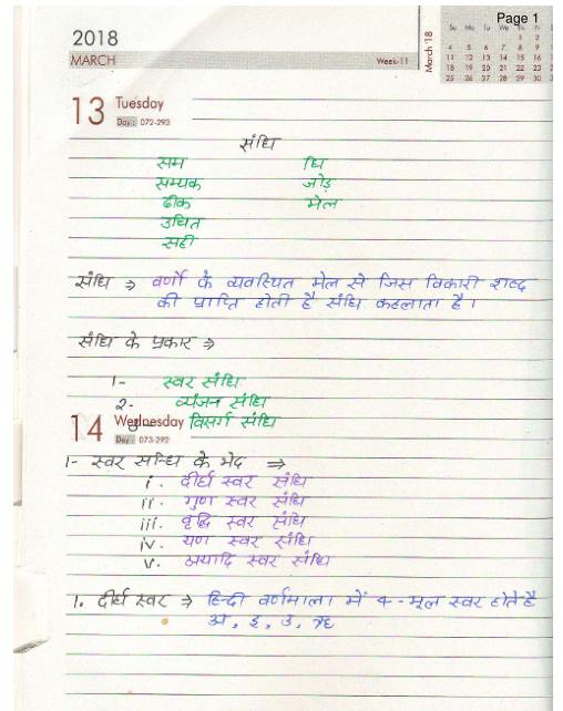 हिंदी टी इ टी पीडीऍफ़ पुस्तक फ्री डाउनलोड  | Hindi Tet Notes PDF Book Free Download