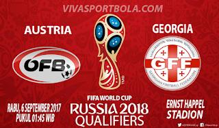 Prediksi Austria vs Georgia 6 September 2017