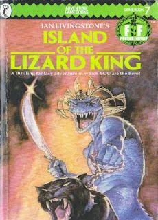 Fighting Fantas #7 Island of the Lizard King