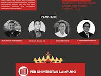 BEM FEB Unila bersama dengan ISMEI Gelar Acara Tajuk Indonesia Berdialog
