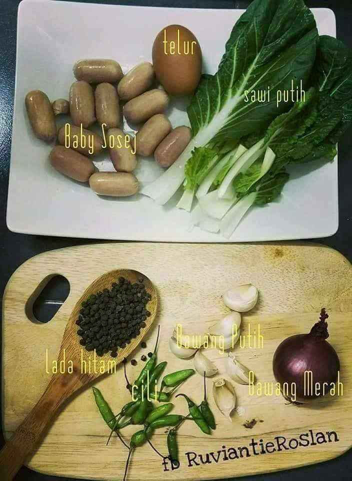 Resepi Nasi Goreng Lada Hitam Simple tapi Berapi