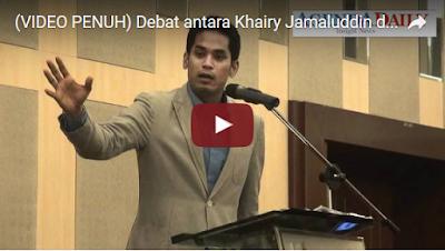 Debat antara Khairy Jamaluddin dan Ambiga