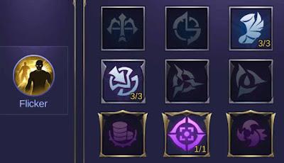 Emblem Dyrroth Assassin Mobile Legends