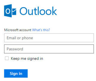 Email Sign In Outlook