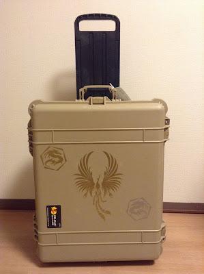 スーツケース ステッカー 鳳凰