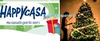 Logo #MYHappyXmas : vinci gratis 500 buoni spesa Happy Casa