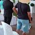 Vereador de Areia toma posse vestido de short, camiseta e de chinelo.