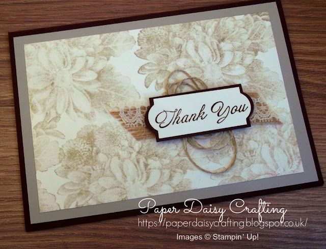 Heartfelt Blooms from Stampin Up FREE