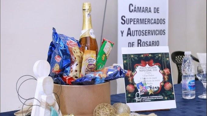 Provincia y supermercadistas presentaron una canasta navideña a precio promocional