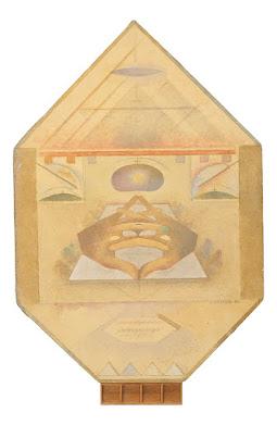Alexandru Chira, Study XVI, 1984, Öl auf Leinwand, 90 x 56,5 cm