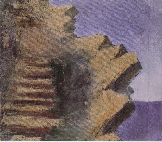 Чюрлёнис Микалоюс Константинас - Утес над морем. 1905