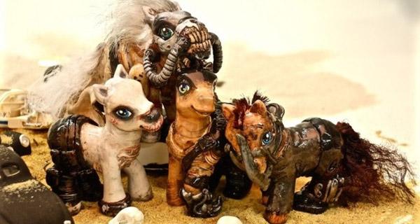 galeria friki mash up de los personajes de mad max y mi pequeño