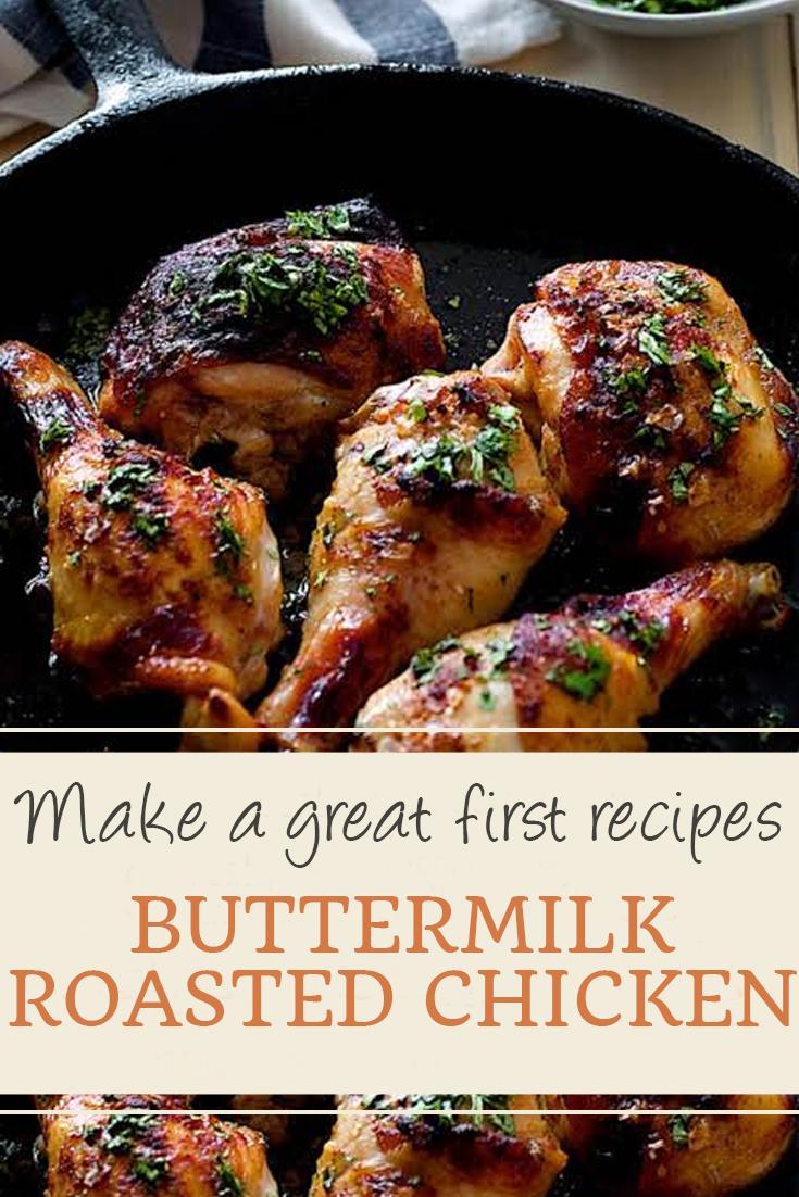 Buttermilk roasted chicken | chicken recipes, crock pot recipes, chicken breast recipes, easy chicken recipes, soup recipes, chili recipe, chicken casserole, slow cooker recipes, chicken salad recipe, meatloaf recipe, chicken thigh recipes, chicken casserole recipes, chicken curry recipe, chicken soup recipe, chicken dishes, baked chicken recipes, baked chicken, healthy chicken recipes, lasagna recipe, chicken recipes for dinner, rice recipes, butter chicken recipe, casserole recipes, chicken parmesan recipe, fried chicken recipe. #buttermilk #roasted #chicken