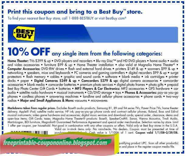 Coupons for best buy 2018