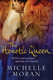 Book Cover The Heretic Queen by Michelle Moran