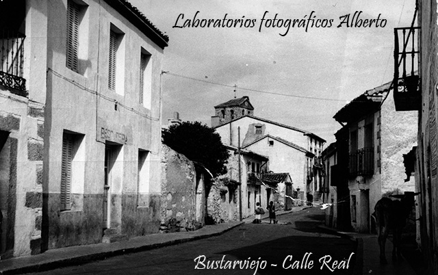 Bustarviejo calle Real