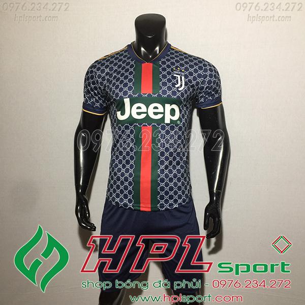 Áo bóng đá câu lạc bộ Juvetus GC đen