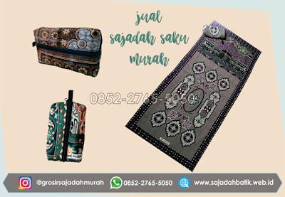 jual sajadah saku murah, sajadah batik, 0852-2765-5050