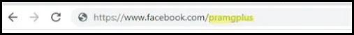 اسم المستخدم برنامج فيس بوك