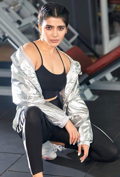 Samantha Akkineni workout Still