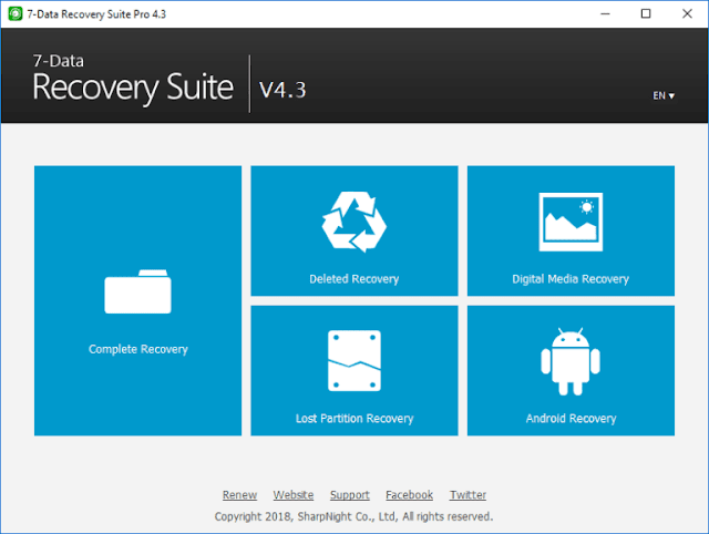 7-Data Recovery Suite 4.4 Pro Serial Key Crack Registration Code License