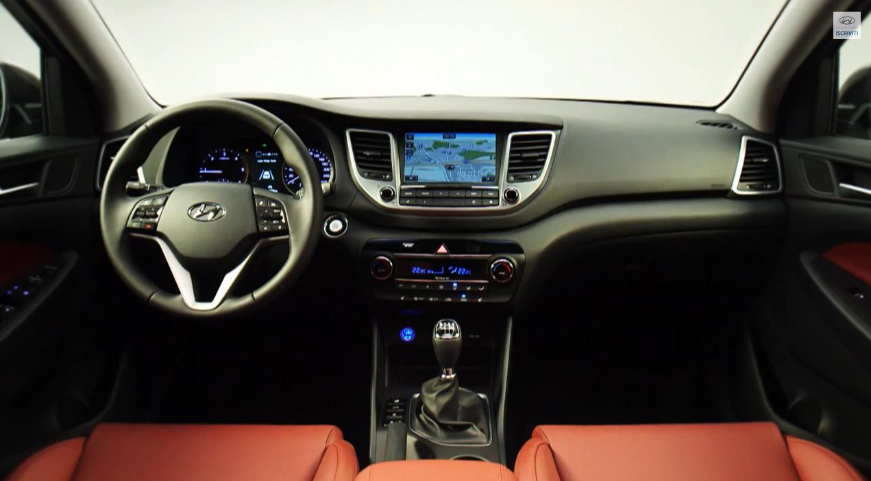 Foto nuova Hyundai Tucson ix35 2016 - Immagini