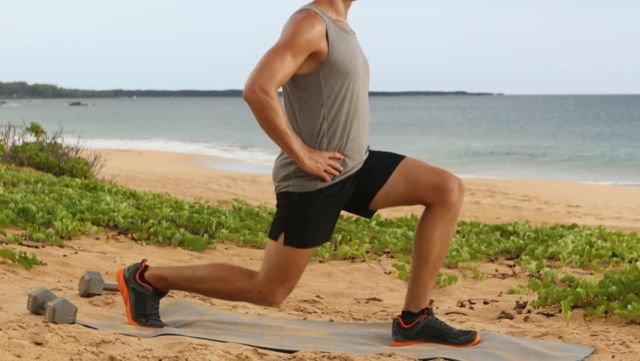 1. Melatih Otot Kaki dan Kesimbangan