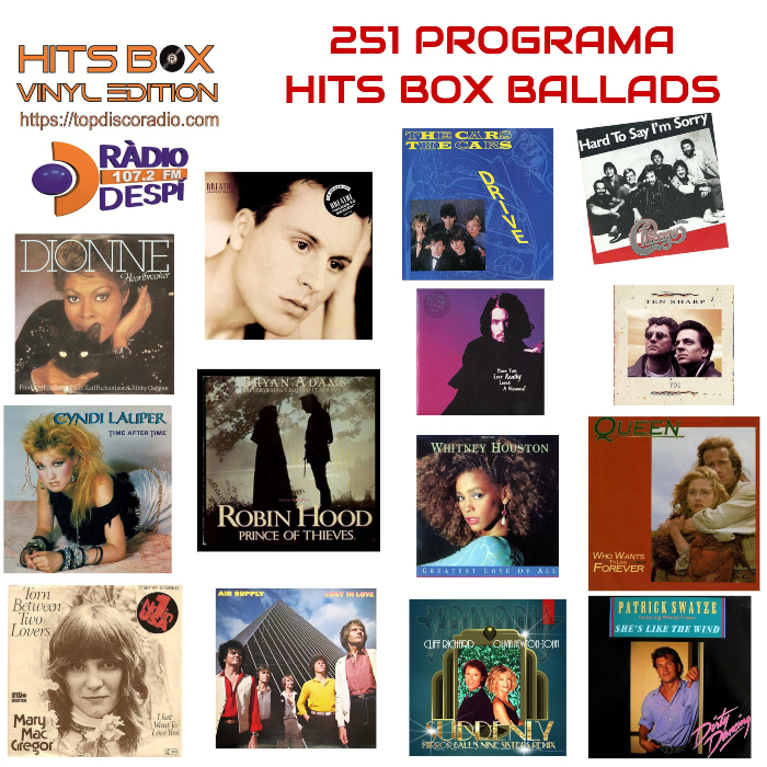 251 Programa Hits Box Ballads