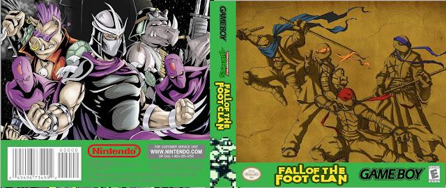 Capa Teenage Mutant Ninja Turtles Fall of the Foot Clan Gameboy