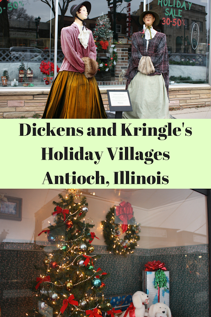 Dickens and Kringle Holiday Villages Antioch, Illinois