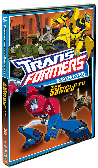 DVD Review - Transformers Animated: The Complete Series
