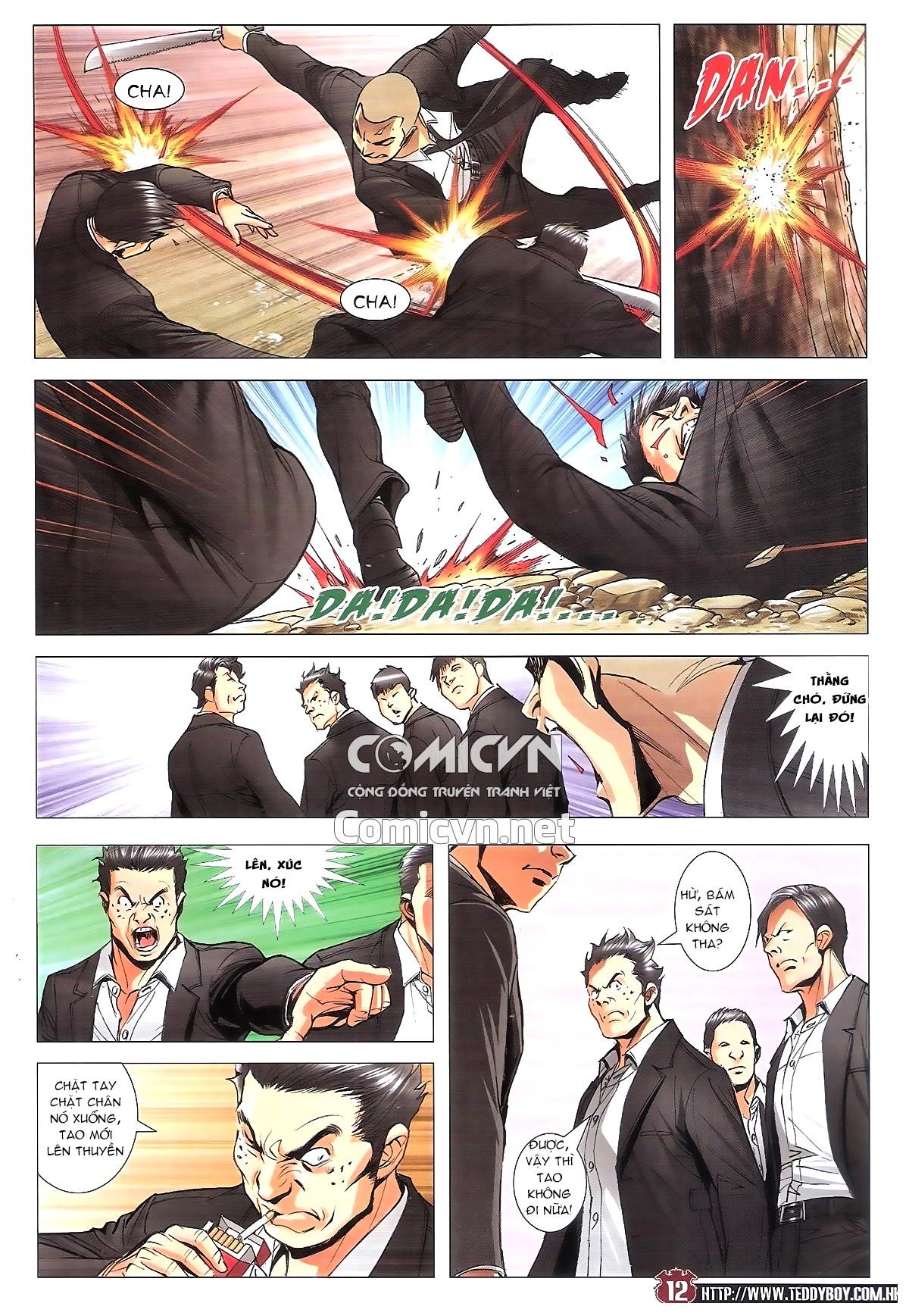 Người Trong Giang Hồ chapter 1805: thiên đao vạn trảm trang 11
